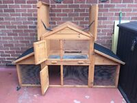Rabbit Hutch for sale - used condition (see pics)