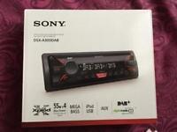 Sony Car DAB stereo