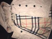 Kids designer mac coat