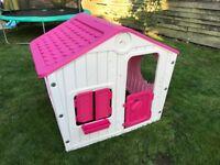 Kids Play House Indoor Outdoor Plastic