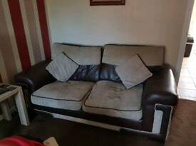 Furniture £50 ono 2 seater 3 seater puffet coffee table
