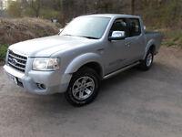 ford ranger thunder 2.5 diesel good runner no mot leather seats 2006 56/plate 4x4 pick up hilux l200