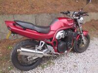 Suzuki Bandit 1200cc 1998 Very nice fast bike