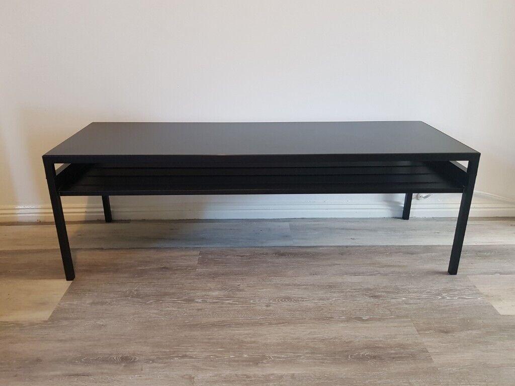 Excellent Modern Black Coffee Table For Sale In Emersons Green Bristol Gumtree Inzonedesignstudio Interior Chair Design Inzonedesignstudiocom