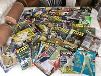 Approx 125 cricket magazines