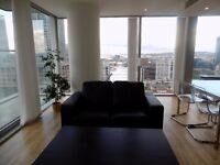 STUNNING TWO BEDROOM FLAT IN CANARY WHARF E14