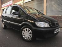 Vauxhall Zafira 2004 1.8i 16v Design 5 door AUTOMATIC, GENUINE LOW MILEAGE, 7 SEATER, BARGAIN