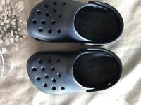Genuine Croc Sandals kids size 6/7