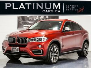 2016 BMW X6 xDrive35i, NAVI, PAN