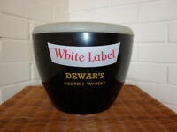 Vintage Retro 'Dewar's' Ice Bucket