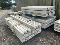 ✨ 9Ft Reinforced Concrete Fencing Posts - New