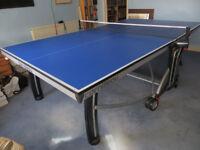 Used indoor table tennis table Cornilleau 500