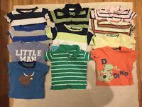 Boys T Shirt bundle 6-12 months
