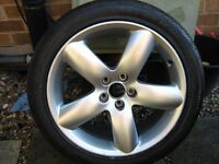 """PEUGEOT 406 ALLOY WHEEL ... 18"""" OTHER TYRES 14,15,16, AVAILABLE LOOK!!!"""