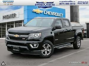 2017 Chevrolet Colorado Crew 4x4 Z71 / Long Box LEATHER NAVIGATI