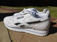 Reebok Classic leather etched Ripple III trainers