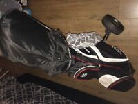 Full Set Golf Clubs with bag and trolley