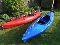 Two Dagger element 10.0 recreational kayaks