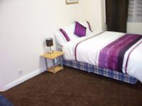 Master bedroom 7/8min walk to East ham tube, £110 pk incl bills & WIFI, call 07737444028 for viewing