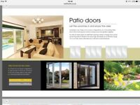 UPVC PATIO DOORS AND FRENCH DOORS ( made to your exact sizes and made in 7 days)