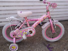 2 pink girles bikes 1 with 14 inch wheels 1 with 9 inch wheels both stablisers £40