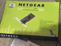 4x Netgear FA311 Network Card (never fitted)