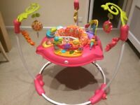 Fisher-Price Pink Petals Jumperoo Baby Bouncer