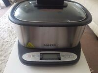 Brand new unused Salter 9 in 1 multicooker slow cooker