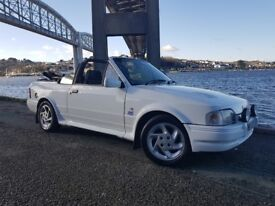 Ford Escort 1.6ltr Convertible/Cabriolet Rs Turbo 1989 (12m Mot,Great example)