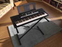 Yamaha E243 Keyboard and stand