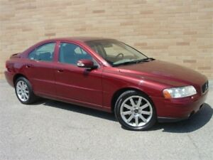 2007 Volvo S60 2.5 T. All Wheel Drive! Only 135000 Km!