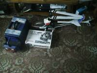 Huge rc nitro helicopter