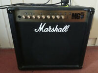 Marshall MG50FX 50W Guitar Amplifier For Sale