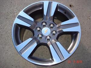 """2015 Chev Colorado Alum. OEM 18"""" x 6 bolt x 5 spoke rims / no tires"""