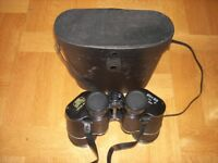 Two pairs of binoculars: Mark Scheffel 20x50 and Ross of London