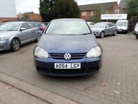 VOLKSWAGEN GOLF 1.9 TDI 2004 BLUE 5DR