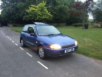Toyota Starlet 1.4 Glanza. Very cheap to insure, economical and very nippy.