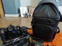 Nikon camera and accessories hardly used