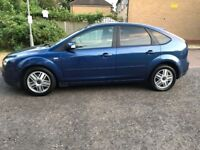 2007 Ford Focus 1.8 TDCi Ghia 5dr Manual @07445775115