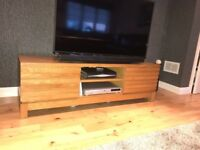 Excellent condition - Solid oak TV unit/ sideboard/next tables - Next furniture