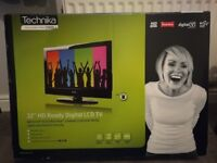 """Technika 32"""" HD Ready Digital LCD TV"""