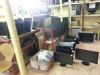 30 Monitors for sale.Dell,HP,Samsung,HannsG,Toshiba 17inch- 24inch.From£20.Read description B4 call.
