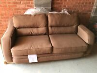 3 Seater sofa & matching pouffe in very good condition