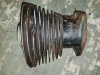 Royal Enfield Model G Barrel and Piston