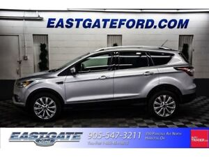 2017 Ford Escape Titanium Nav, Moonroof, AWD, Leather