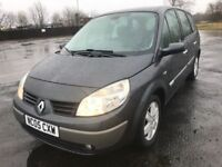 05 RENAULT GRAND SCENIC DYNAMIQUE 7 SEATER ONLY £1399