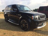 56 plate rangerover sport with 2012 autobiography conversion