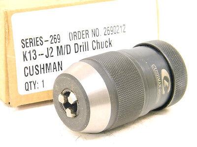 NEW CUSHMAN STANDARD KEYLESS DRILL CHUCK (2690212) K13-J2 M/D (1/32
