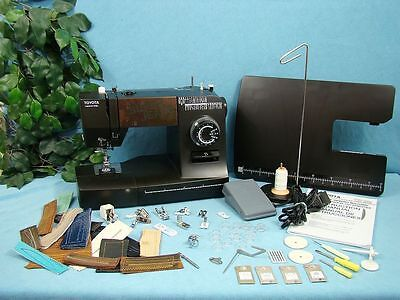 Toyota Heavy Duty Industrial Strength Sewing Machine Upholstry Leather Vinyl