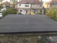 FLAT ROOFING SERVICES NORTH LONDON (Fibreglass,Epdm,,Green roof,Torch felt